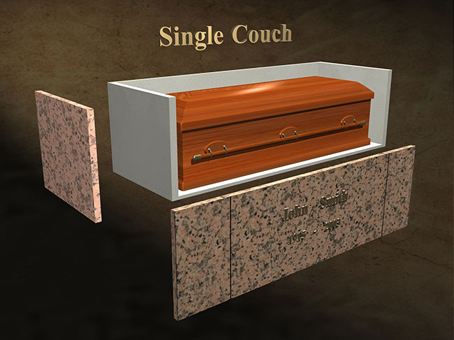 Single Couch diagram